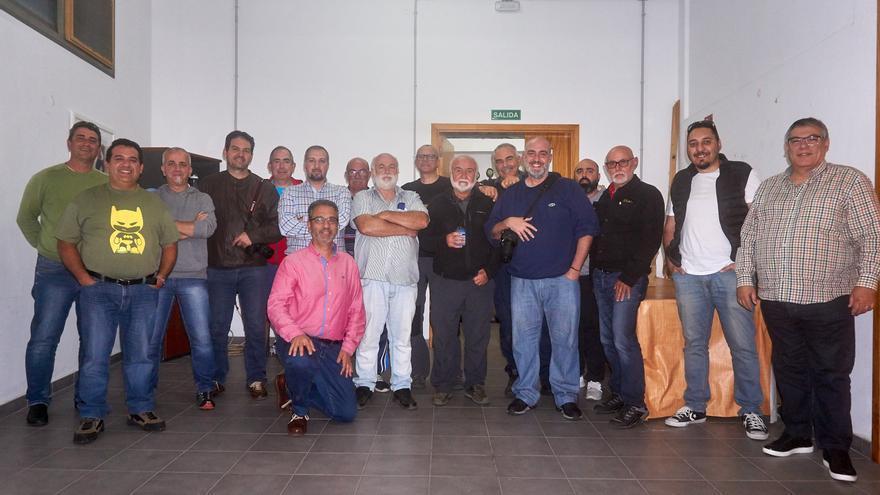 Miembros de la Asociación Afoto La Palma.