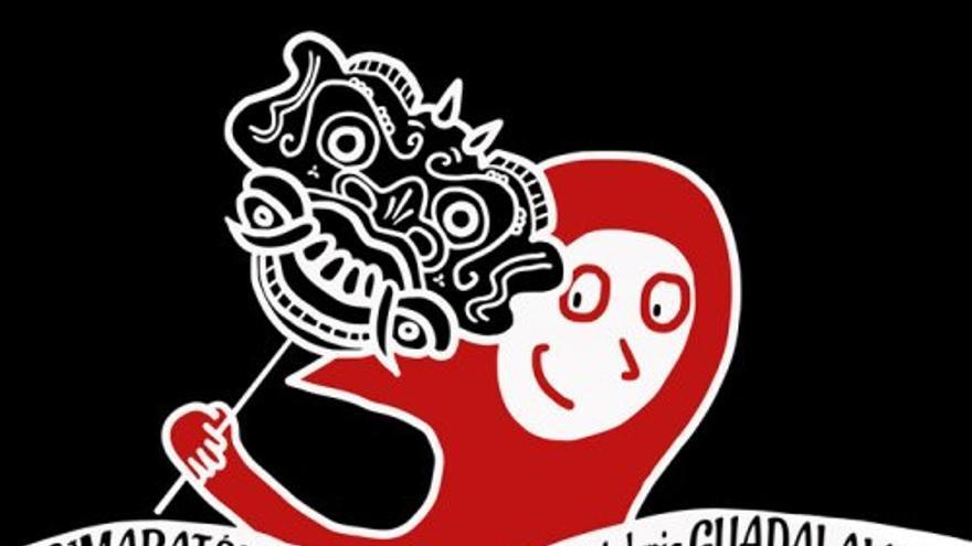 Cartel del Maratón de Guadalajara