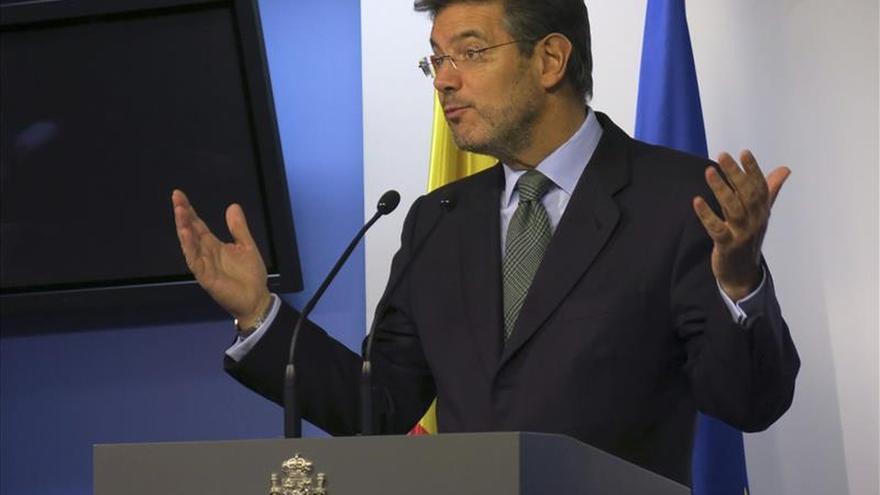 """Catalá espera que la Fiscalía pida suspender la excarcelación de """"Santi Potros"""""""