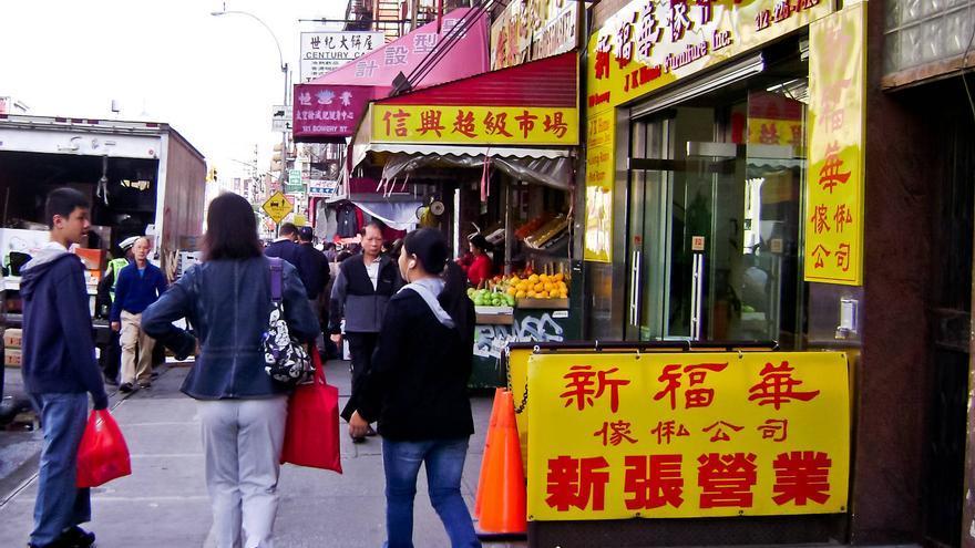 Comercios en el corazón de Chinatown. GRACIELA BERRINO