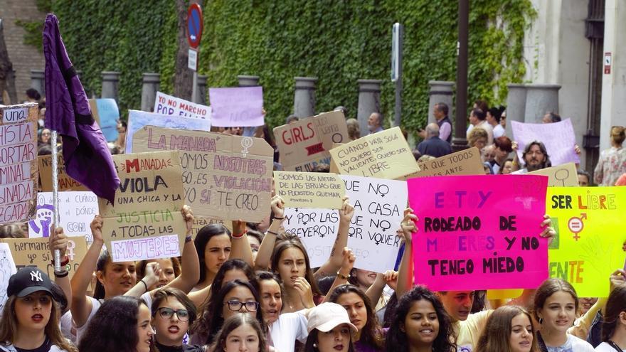 Protestas esta tarde en toda Andalucía contra la libertad provisional de los miembros de La Manada