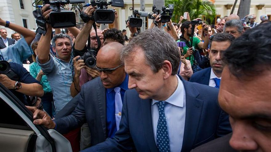"""Zapatero ve """"voluntad de diálogo"""" entre el Gobierno y la oposición de Venezuela"""