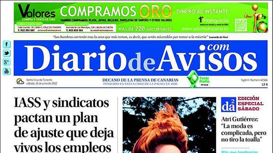 De las portadas del día (16/06/2012) #8