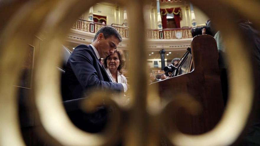 Sánchez sobre Montón: el Gobierno eligió la ejemplaridad, a otros les cuesta