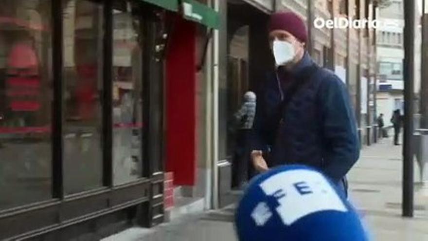 VÍDEO   Urdangarin acude al despacho de abogados de Vitoria donde va a trabajar