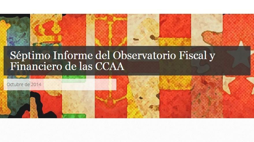 El Observatorio Fiscal y Financiero de Fedea ha presentado su séptimo informe de 2014 sobre la CC.AA.