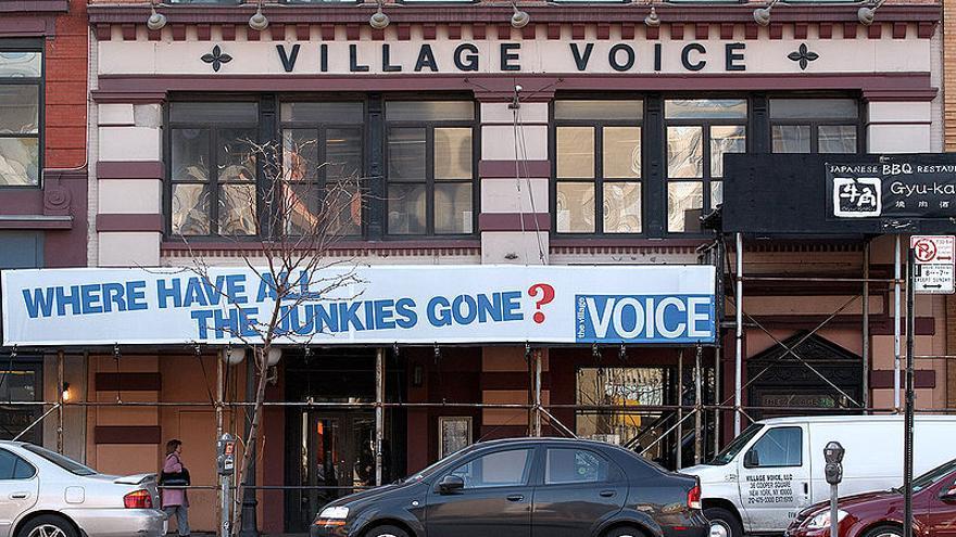 La redacción de The Village Voice en el 36  de Cooper Square, Nueva York | Foto: Herder3 | Wikimedia Commons