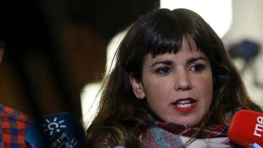 """Teresa Rodríguez agradece las muestras de solidaridad recibidas tras su denuncia: """"Esto no es una causa sólo personal"""""""