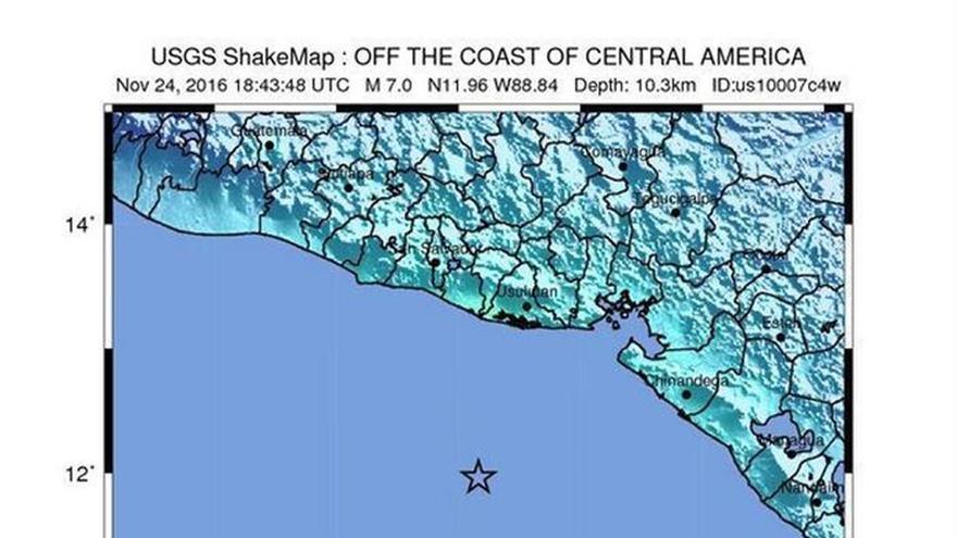 Un terremoto de magnitud 7,2 sacude Centroamérica y genera riesgo de tsunami
