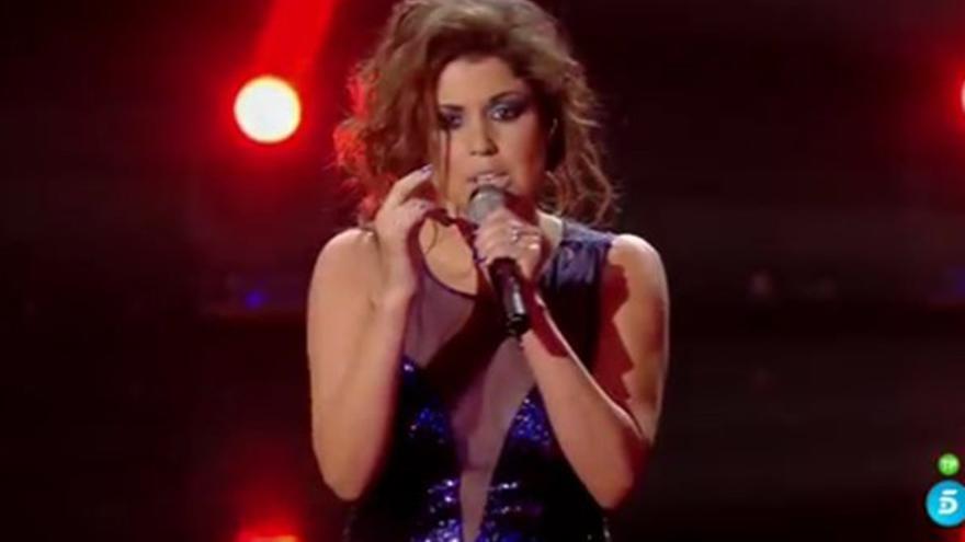 La cantante canaria Cristina Ramos.