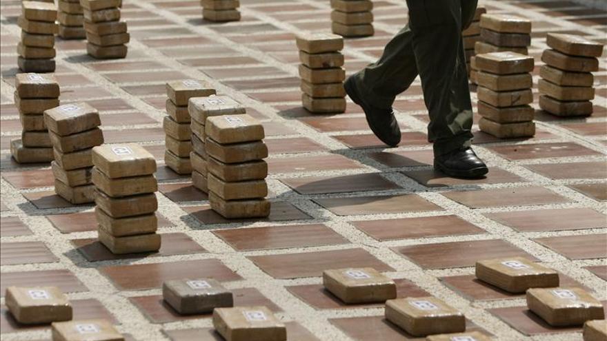 Policía colombiana incauta cerca de 650 kilos de cocaína destinados a EE.UU.