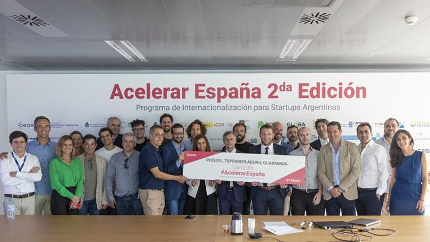 Premian a empresas emergentes argentinas con un proyecto de desarrollo en España