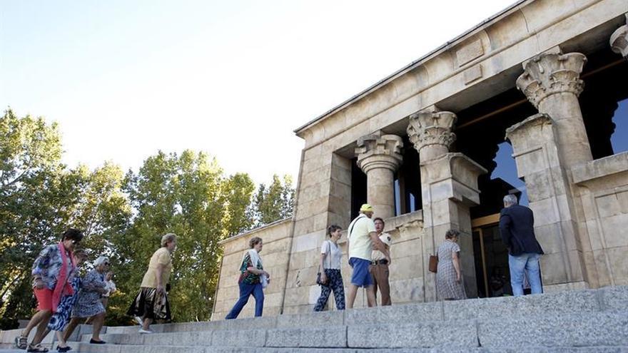 El Templo de Debod vuelve hoy a abrir sus puertas