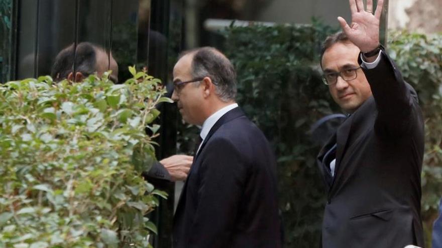 Turull, Rull y Sànchez invocan ante el TC la condena de Estrasburgo a Turquía