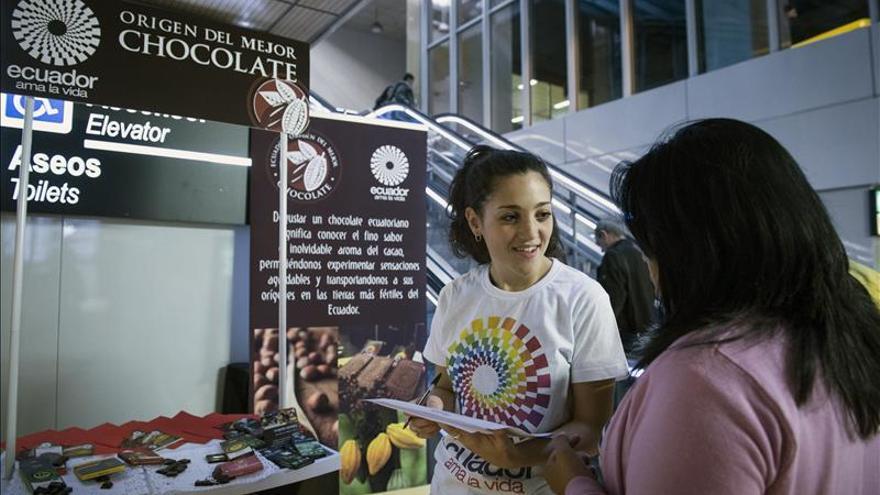Ecuador venderá su chocolate en máquinas instaladas en estaciones del Metro del Madrid