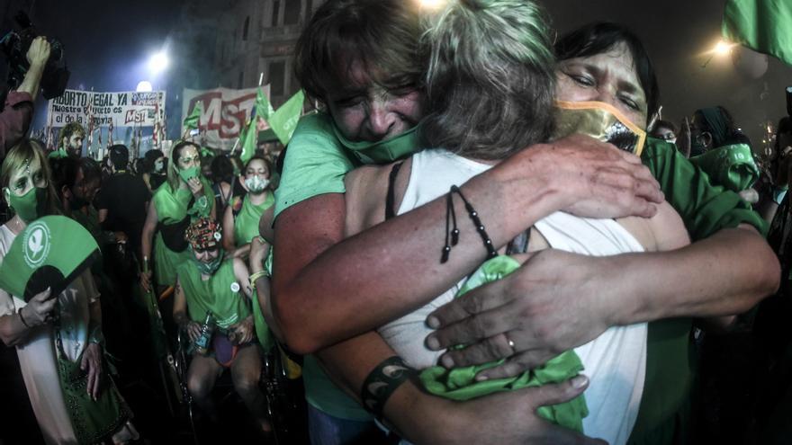 El 30 de diciembre de 2020 se sancionó la legalización del aborto en Argentina