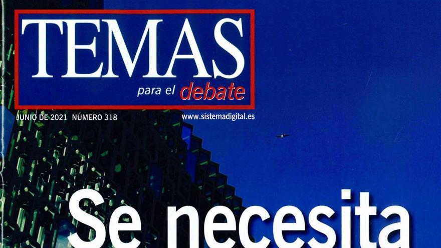 Portada de la revista 'Temas para el debate'