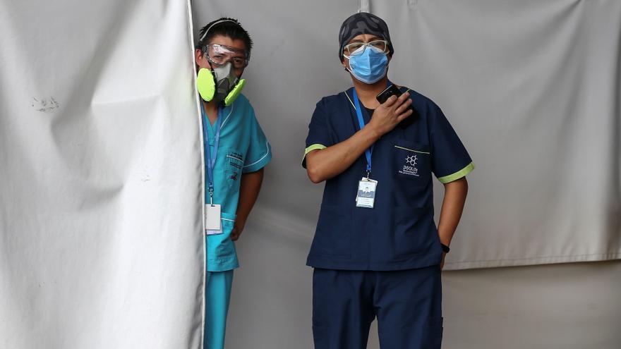 Ecuador ante la creciente presión hospitalaria pero sin segunda ola de contagios