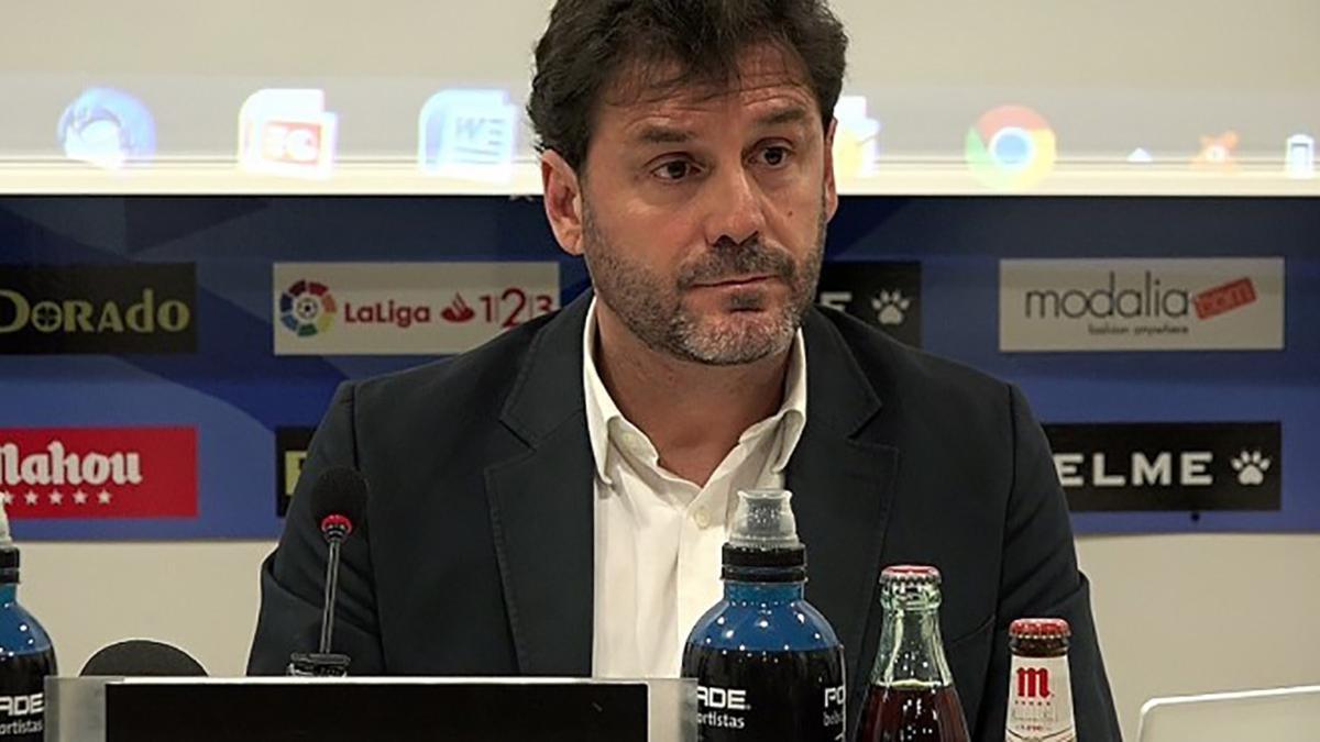 Luis Yáñez, director general del Rayo Vallecano