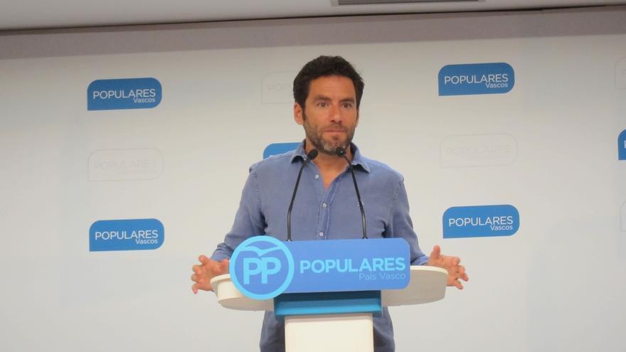 """Sémper dice que, con PNV, ahora mismo están """"más cerca de lo imposible que de lo posible"""" por el escenario preelectoral"""