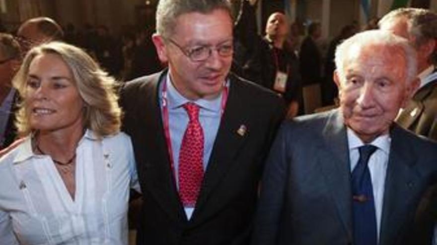 Gallardón dice no sentir más presión por acudir Obama y que Zapatero y el Rey tendrán encuentros con el COI