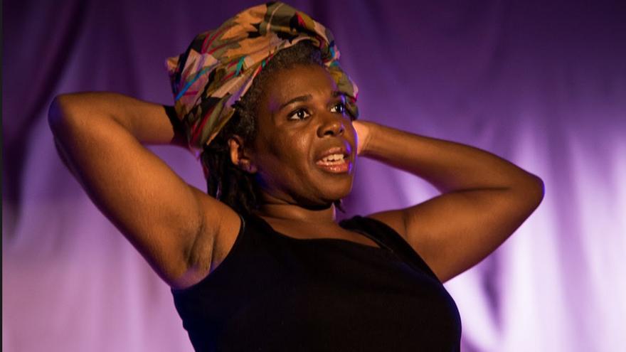 Silvia Albert en la obra 'No es país para negras'