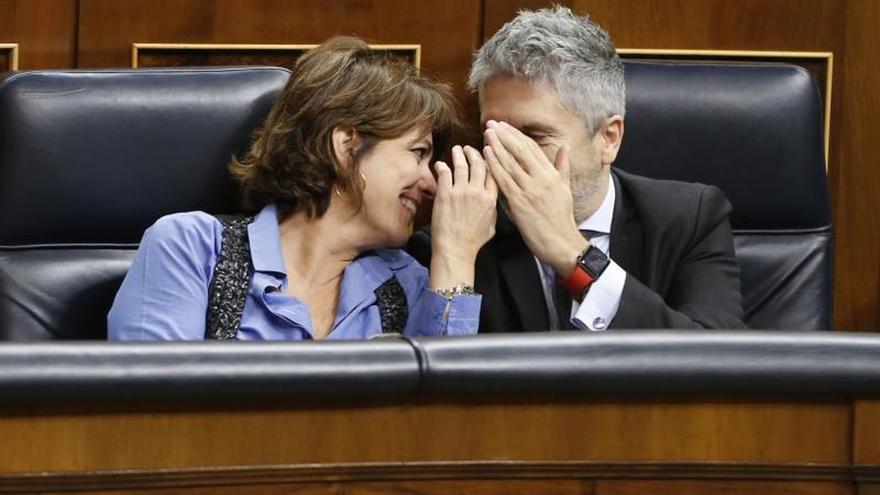"""Delgado ve una """"burla"""" la enmienda del PP sobre CGPJ para tapar a Cosidó"""