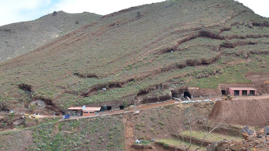 En la imagen, vista general de la explotación ganadera.