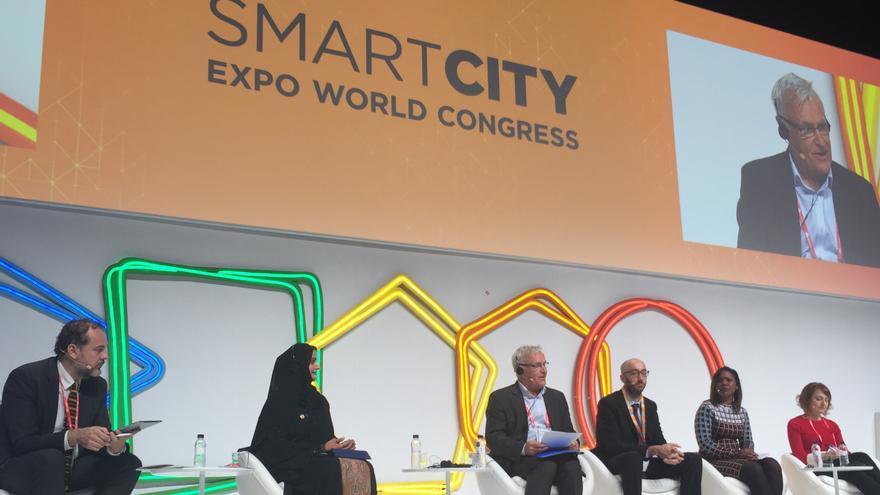 El alcalde de València, Joan Ribó, en el Smart City Congress