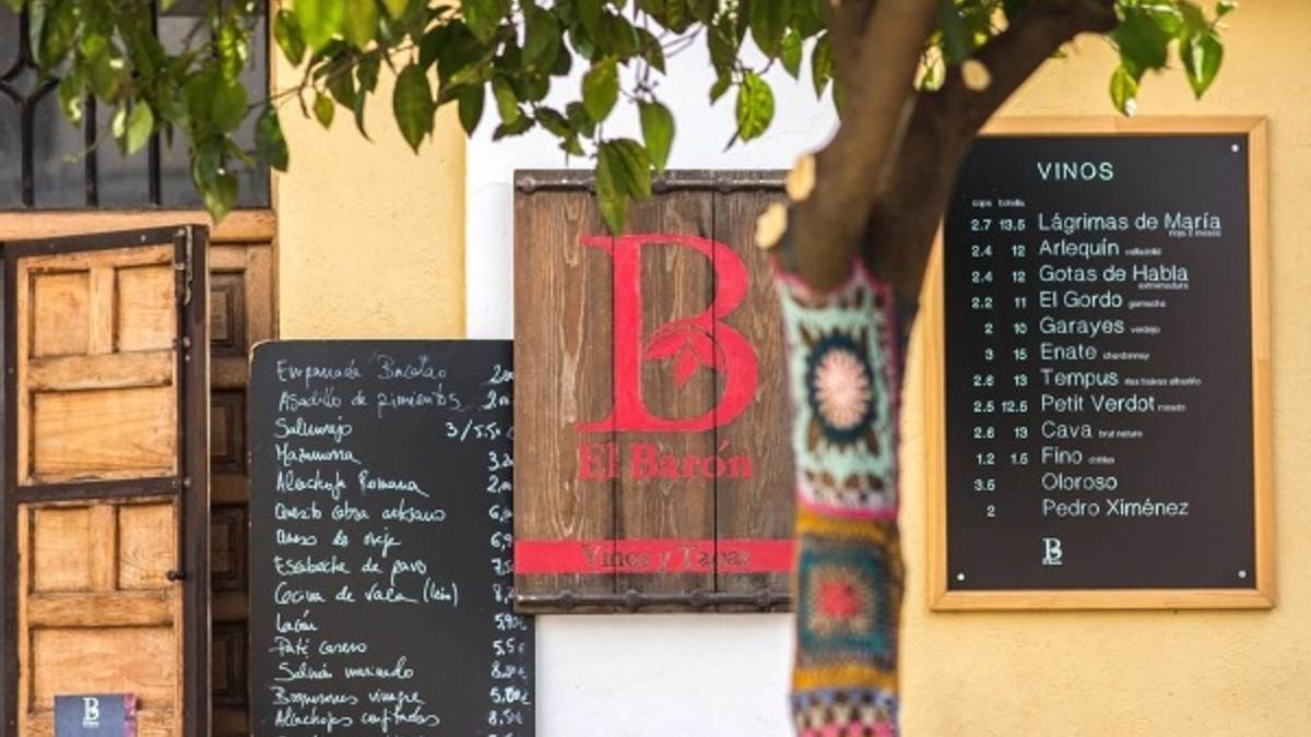 Bar El Barón donde se celebrarán las tertulias científicas los días 26 y 27 de mayo.