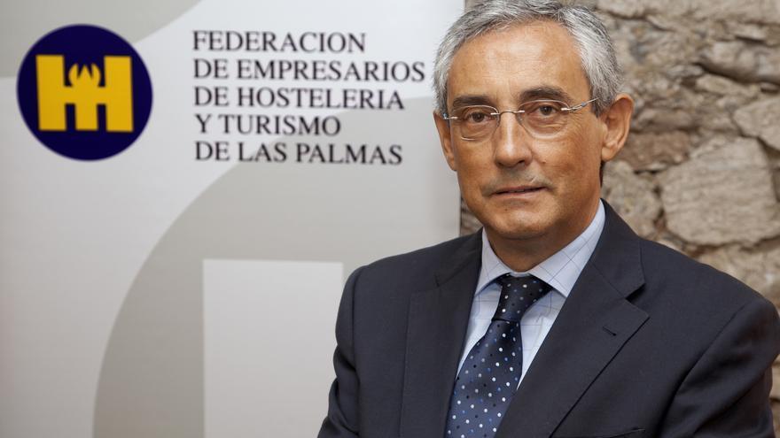 Fernando Fraile, presidente de la Federación de Hostelería y Turismo de Las Palmas