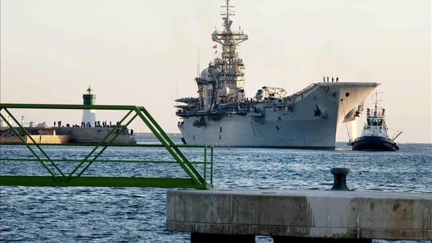 La baja del portaaviones Príncipe de Asturias cuesta 1,2 millones de euros