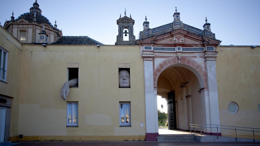 El arte contemporáneo y el barroco se dan la mano en la Cartuja