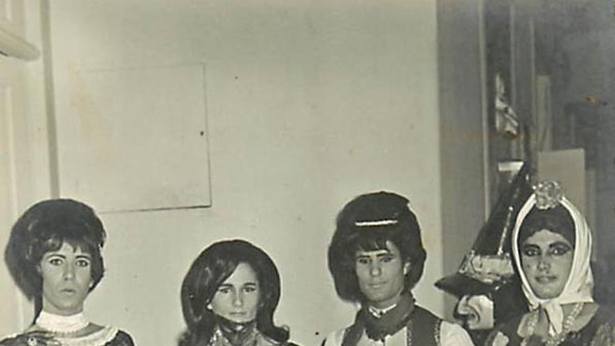 Manuel Alfonso, carnavales de 1967.