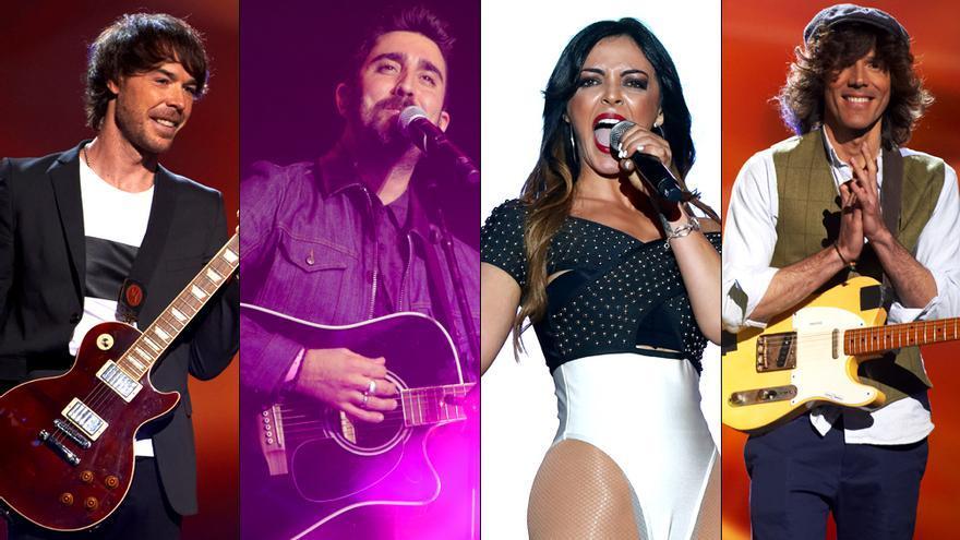 El sueño de Morfeo, Merche y Álex Ubago, entre los autores de los temas seleccionados para Eurovisión