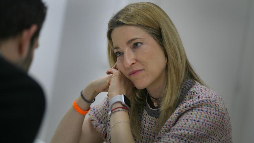 María Muñoz, candidata de Ciudadanos al Congreso y experte en banca.