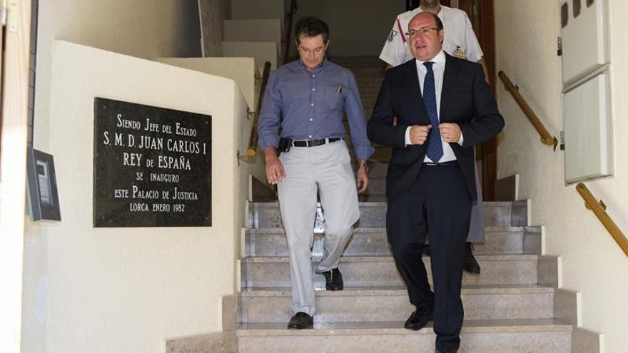 El juez ve indicios de prevaricación de Pedro Antonio Sánchez cuando era alcalde