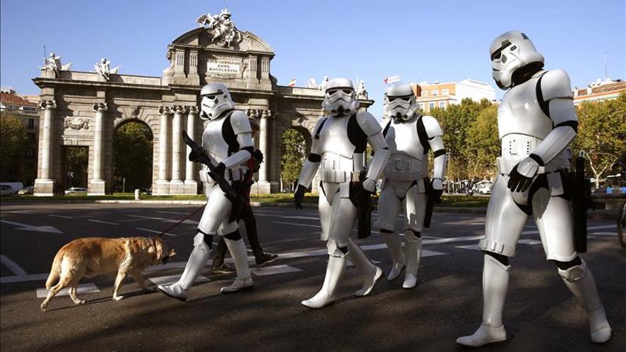 """""""Star Wars"""", primera en euros, pero con menos espectadores que """"8 apellidos"""""""