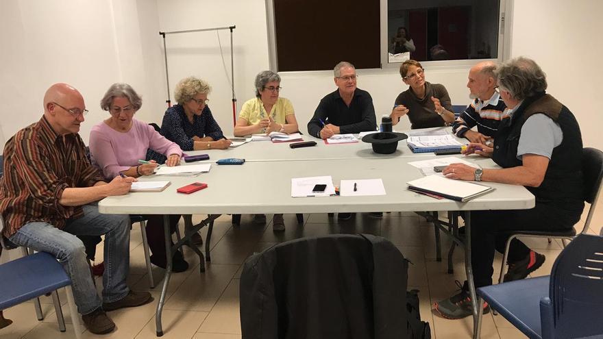 Integrantes de la plataforma Semilla del Norte, constituida en Gran Canaria para fomentar el Cohousing.