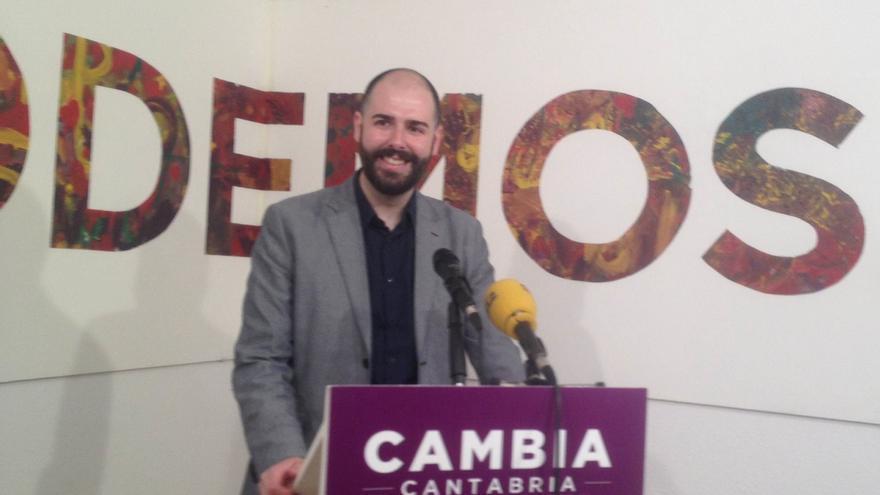 Revuelta apuesta por aumentar la transparencia y participación en Podemos Cantabria