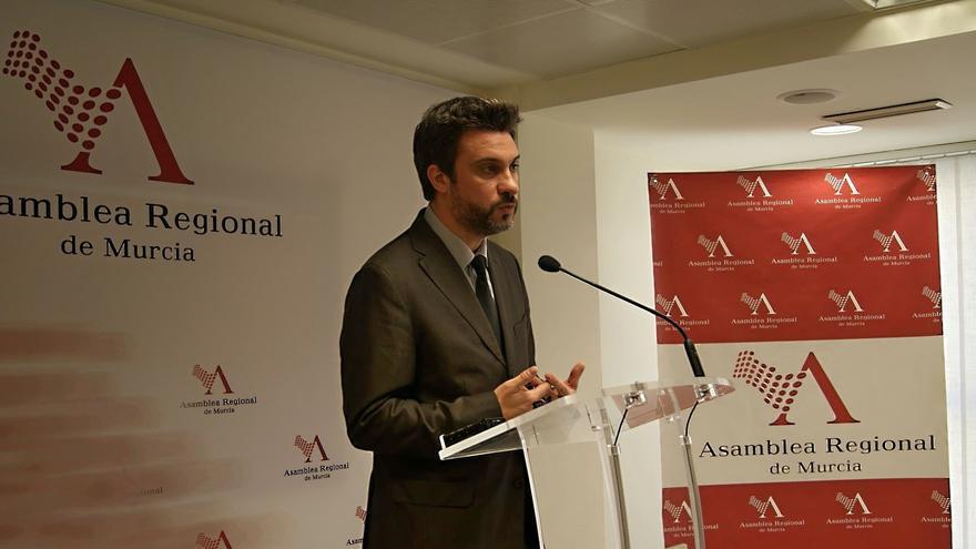 El viceportavoz del Grupo Socialista en la Asamblea Regional, Joaquín López Pagán