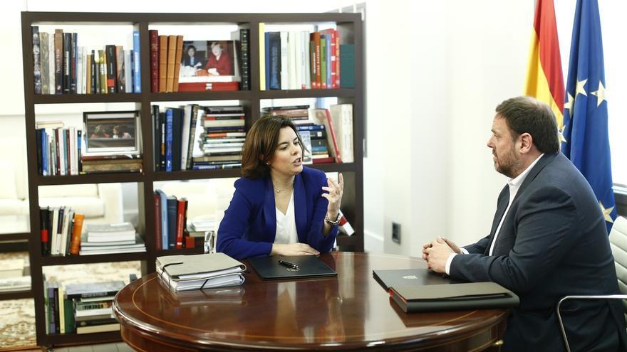 Junqueras invitará a Sáenz de Santamaría a reunirse en Barcelona
