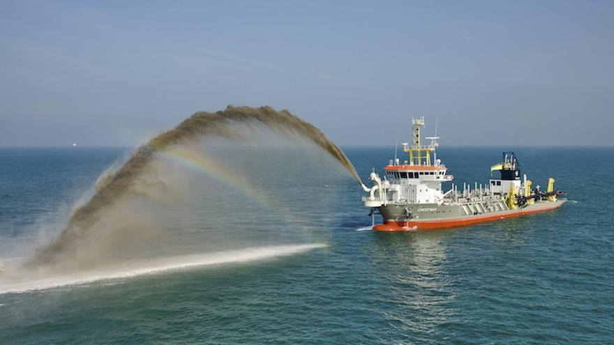 La minería submarina afecta a los hábitats del fondo marino / EFE