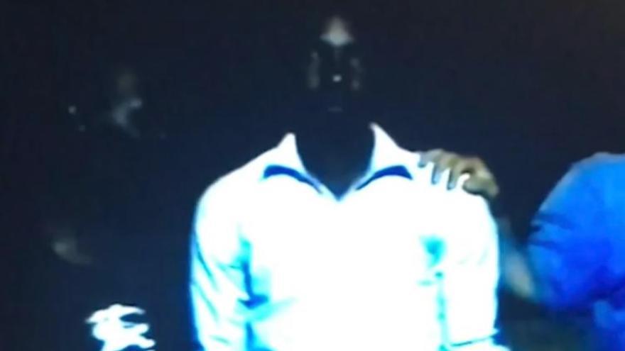 Captura del reportaje de la CNN sobre la venta de esclavos en Libia.