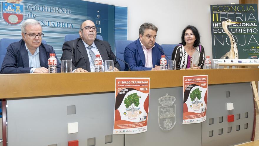 """Noja promocionará sus """"tesoros naturales"""" en la II Feria Econoja y su sector agroalimentario en el VI Burgo Transmerano"""