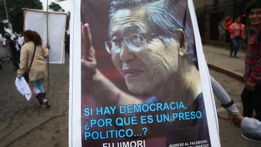 Un juzgado confirma la improcedencia del hábeas corpus para excarcelar a Fujimori