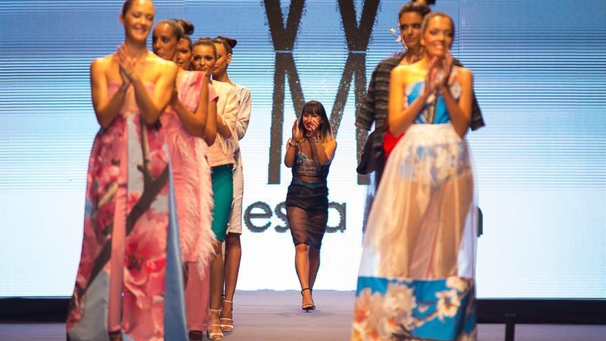 La diseñadora Waleska Morín tras conocer el fallo del jurado.