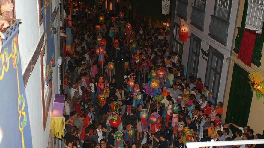 Imagen de archivo del desfile de La Pandorga.