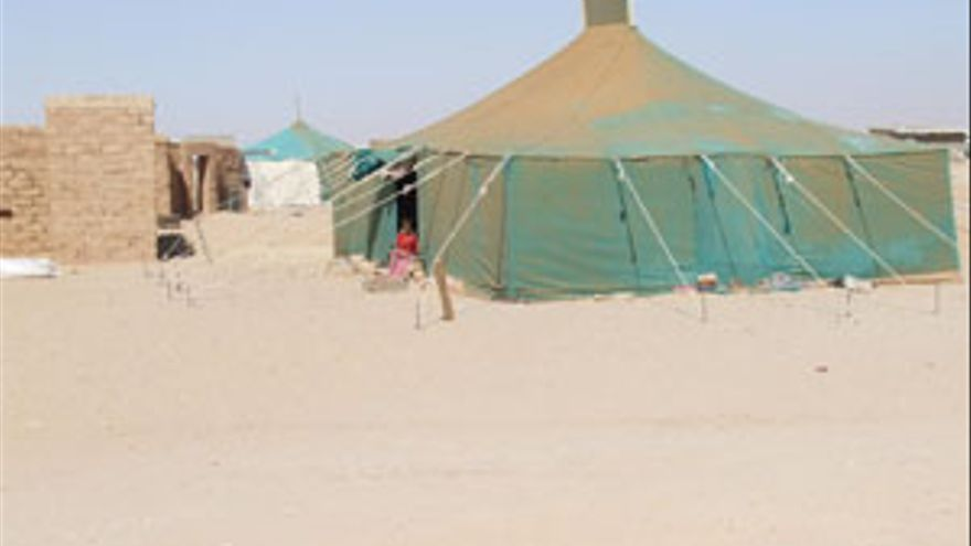 Campamento de refugiados en Tinduf. (ACN PRESS)