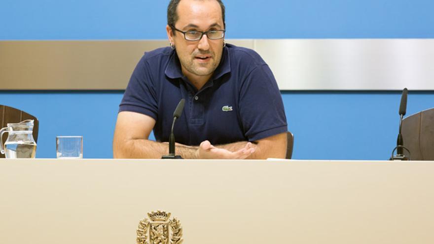 Alberto Cubero, consejero de Servicios Públicos y Personal del Ayuntamiento de Zaragoza